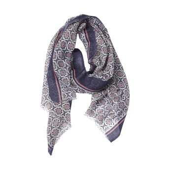 Picture of Scarf Harper, aubergine