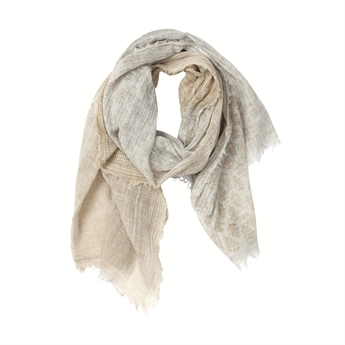 Picture of Scarf Isabelle, beige/gold