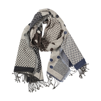 Picture of Scarf Samantha, grey/blue