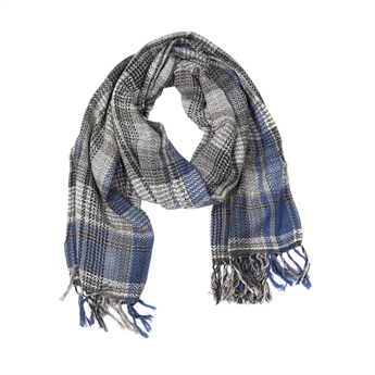 Picture of Scarf Lucy, blue/beige