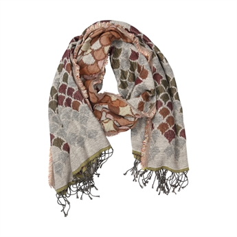Picture of Scarf Mila, beige/green