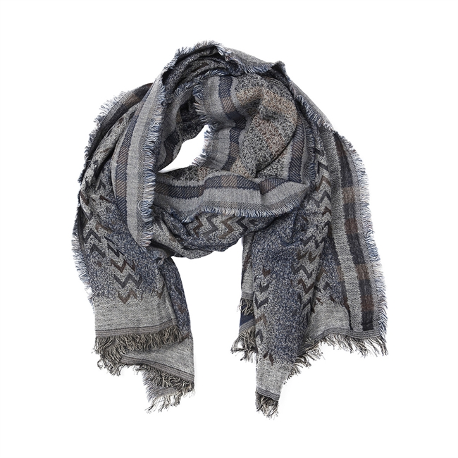 Picture of Scarf Nora, grey/blue