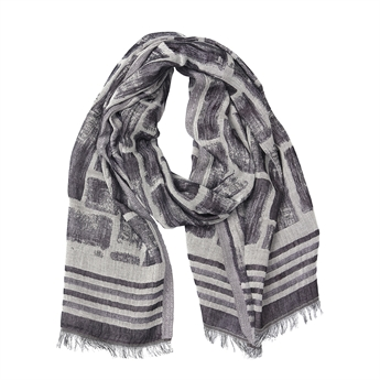 Picture of Scarf Lyla, grey/purple