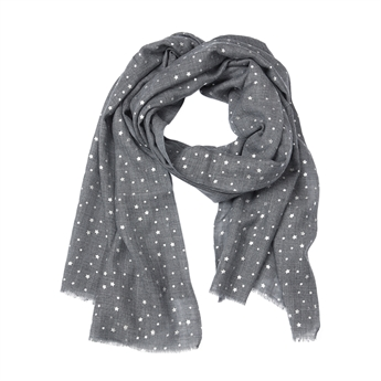 Picture of Scarf Brooke, grey/silver