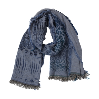 Picture of Scarf Eden, dk blue