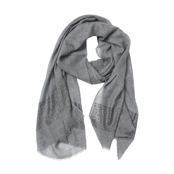 Picture of Scarf Gracie, dk grey