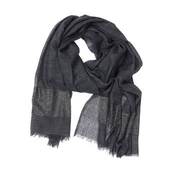 Picture of Scarf Gracie, charcoal