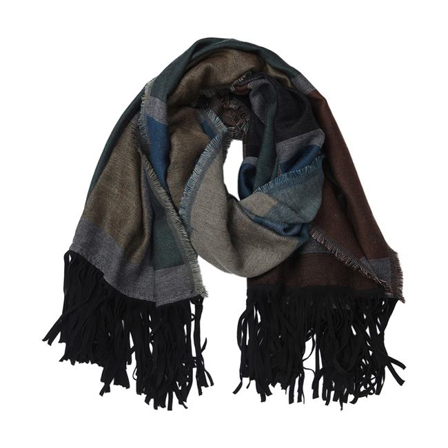 Picture of Scarf Rose, charcoal