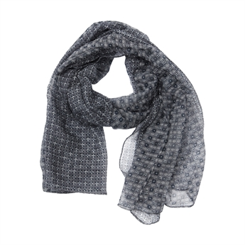 Picture of Scarf Reese, dk grey