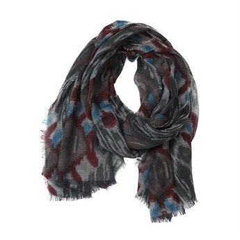 Picture of Scarf Elise, burgundy