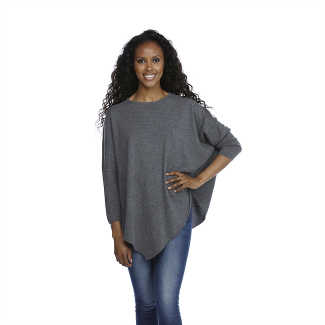 Picture of Poncho Cortina, dk grey