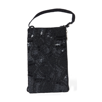 Picture of Mini clutch Evita, black