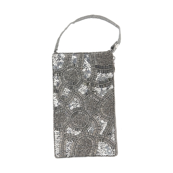 Picture of Mini clutch Evita, silver