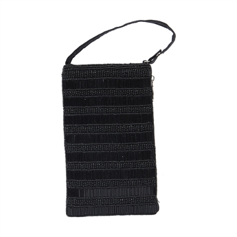 Picture of Mini clutch Poppy, black