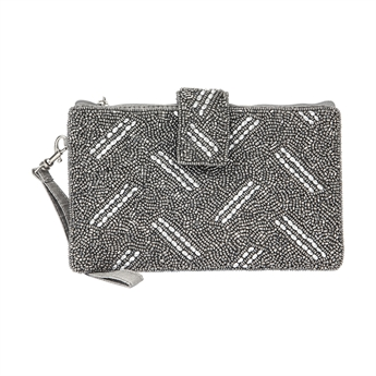 Picture of Mini clutch Ella, silver