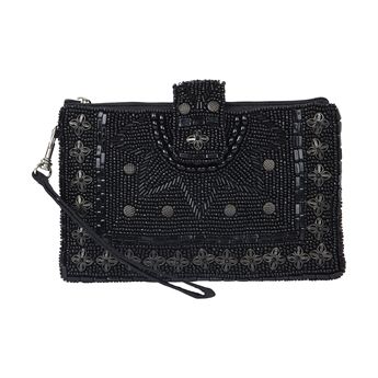 Picture of Mini clutch Sienna, black