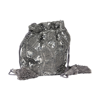 Picture of Pouch Evita, silver