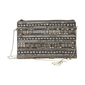 Picture of Clutch bag Alice, grey