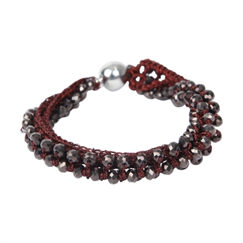 Picture of Bracelet Adelyn, burgundy
