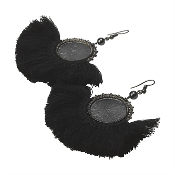 Picture of Earring Leno, black