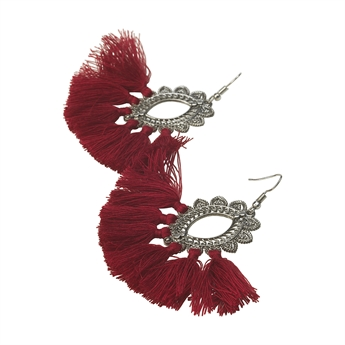 Picture of Earring Mig, red
