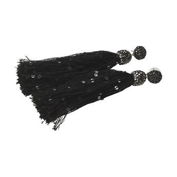 Picture of Earring Jade, black