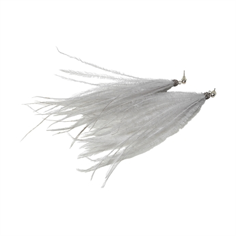 Picture of Earring Cecilia, grey