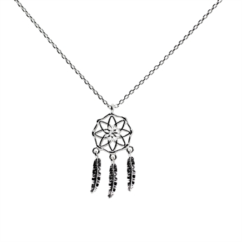 Picture of Necklace Bianca, silver plated