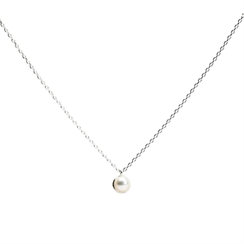 Picture of Necklace Gianna, fresh water pearl/silver plated