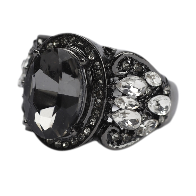 Picture of Ring Brindisi, gun metal