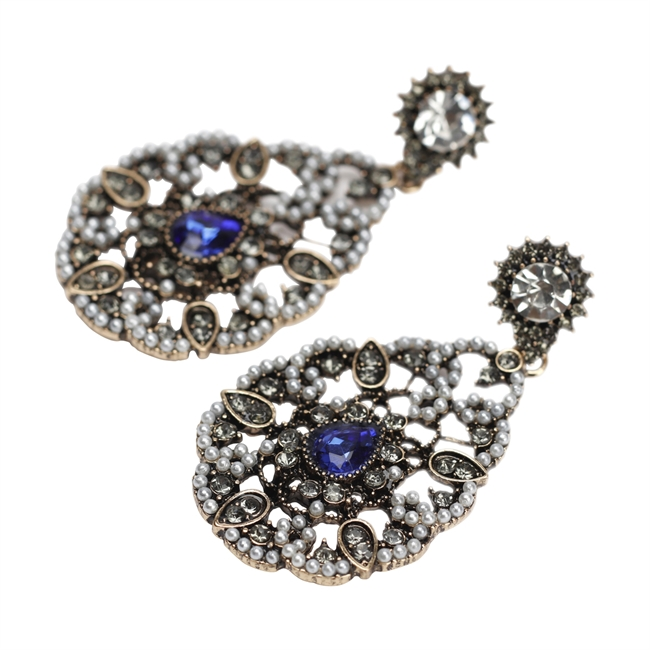 Picture of Earring Paris, grey