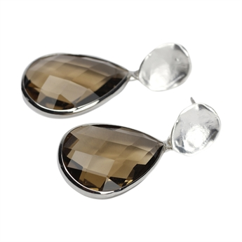 Picture of Earring Sienna, grey