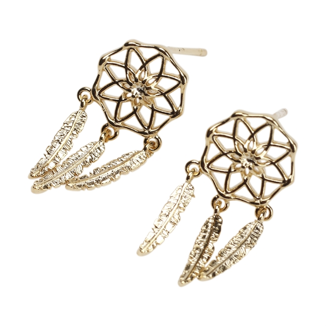 Picture of Earring Bianca, gold plated