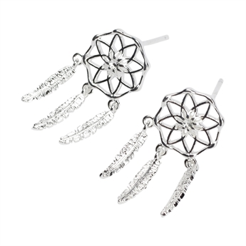 Picture of Earring Bianca, silver plated