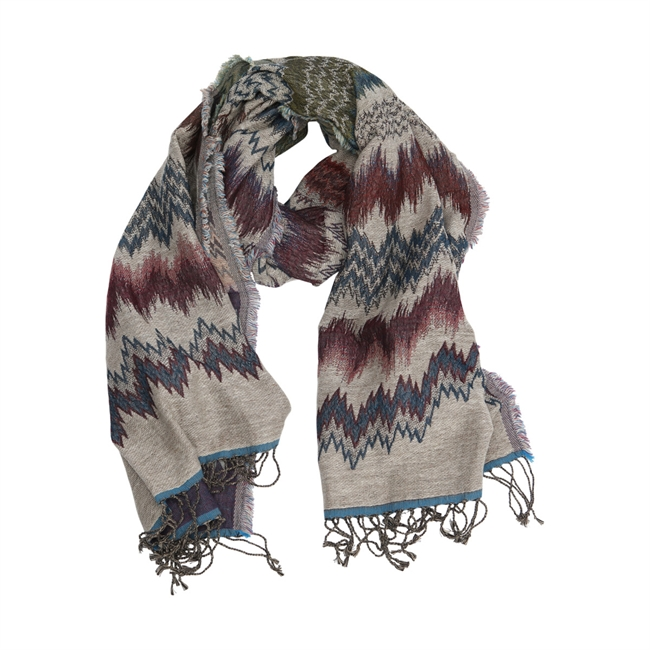 Picture of Scarf Stella, grey/mix