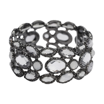 Picture of Bracelet Camille, gun metal