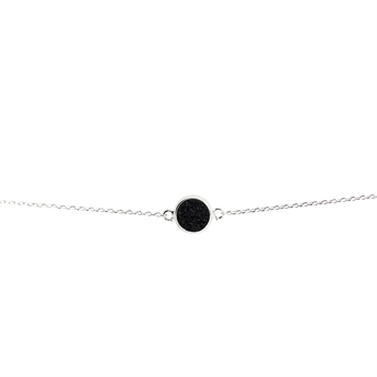 Picture of Bracelet Lucia, black/silver plated