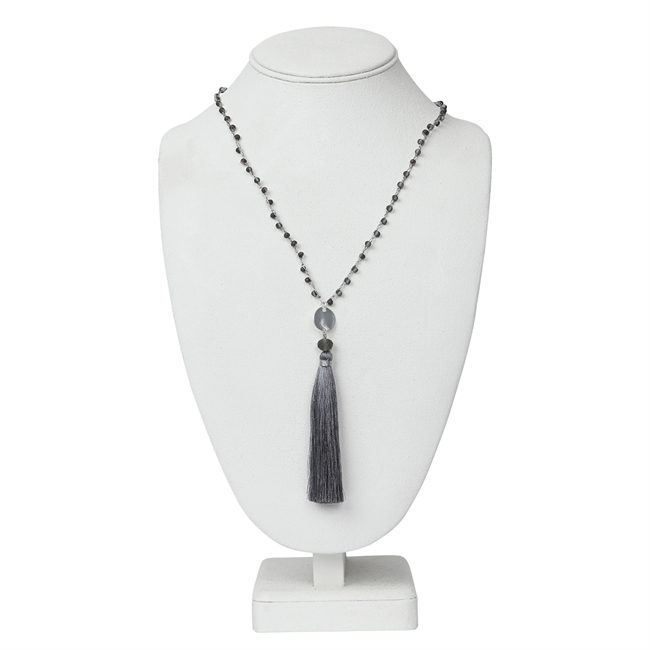 Picture of Necklace Maya, grey