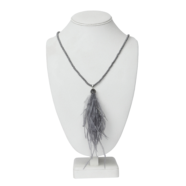 Picture of Necklace Esther, grey