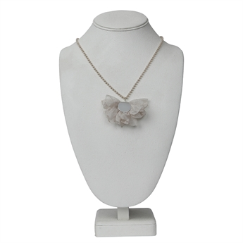 Picture of Necklace Vivian, creme.