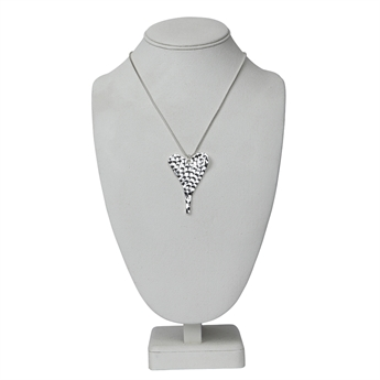 Picture of Necklace Grace, matte silver
