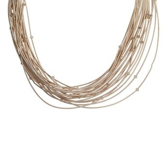Picture of Necklace Emery, taupe