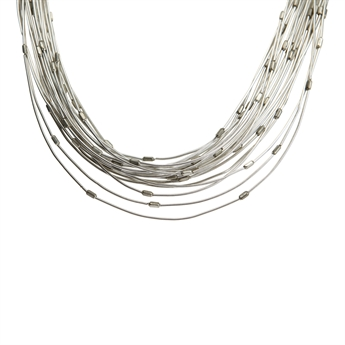 Picture of Necklace Josephine, silver