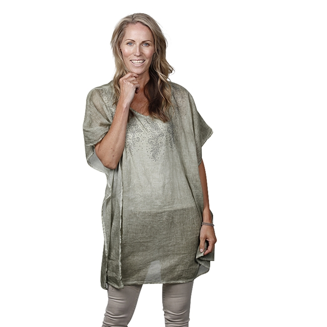 Picture of Kaftan Nice, taupe