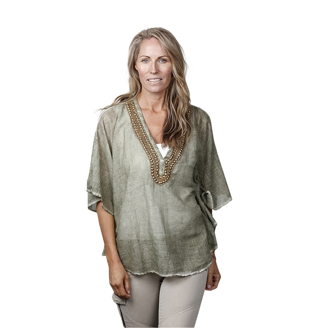 Picture of Kaftan Portofino, taupe