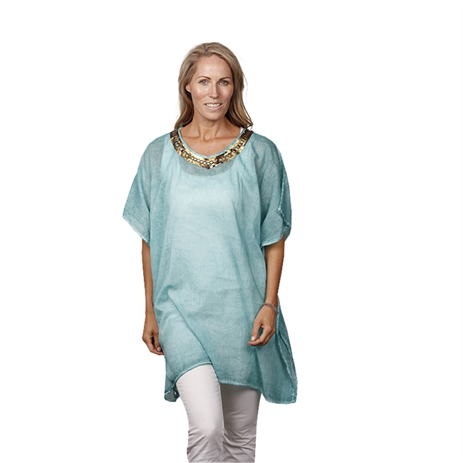 Picture of Kaftan San Remo, aqua