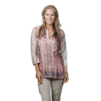 Picture of Tunic Iris, lt pink/grey