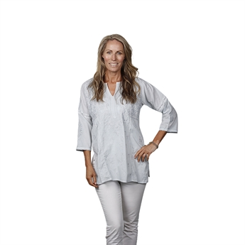 Picture of Tunic Valerie, lt grey