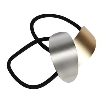 Picture of Hairband Mimmi, matt silver/matt gold.