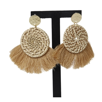 Picture of Earring Nora, beige